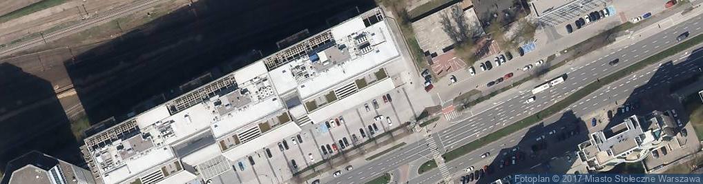 Zdjęcie satelitarne Aleje Jerozolimskie al.