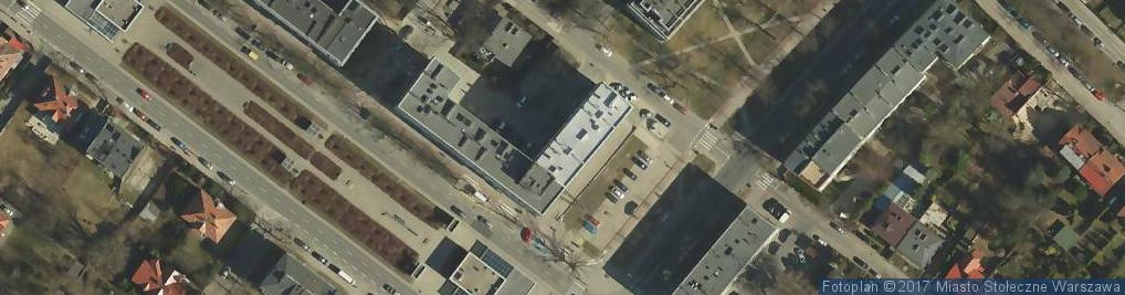 Zdjęcie satelitarne Aleja Zjednoczenia al.
