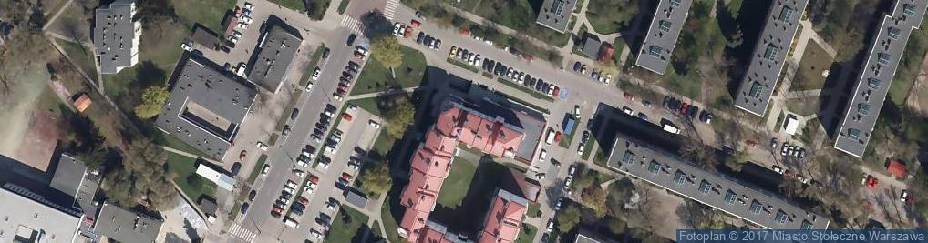 Zdjęcie satelitarne Aleja Dwudziestolatków al.