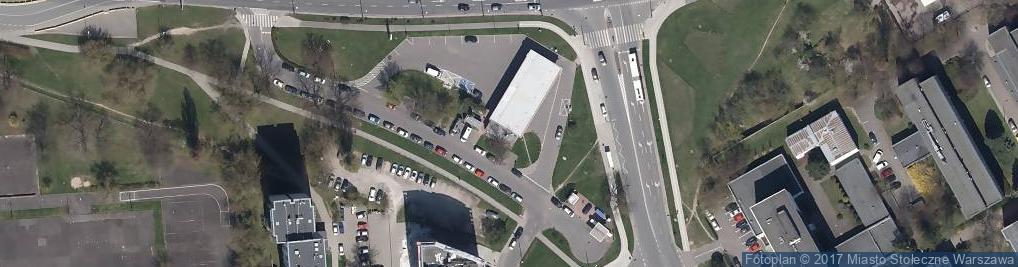 Zdjęcie satelitarne Aleja Lotników al.