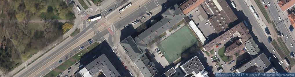 Zdjęcie satelitarne Aleja Solidarności al.