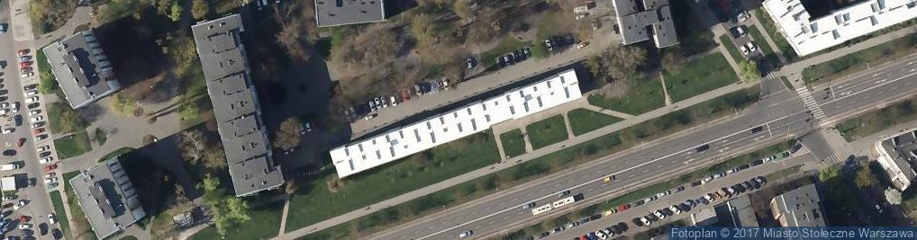 Zdjęcie satelitarne Aleja Waszyngtona Jerzego al.