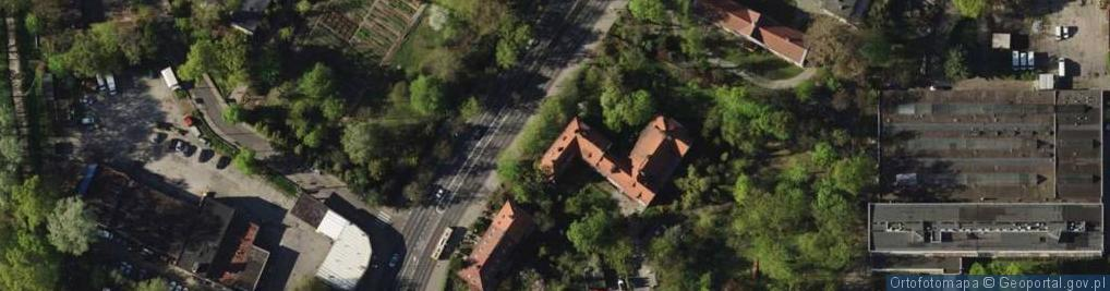 Zdjęcie satelitarne Aleja Kochanowskiego Jana al.