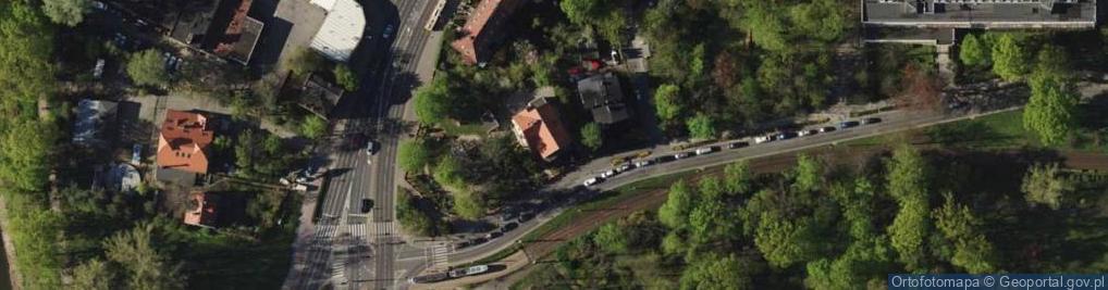 Zdjęcie satelitarne Aleja Różyckiego Ludomira al.