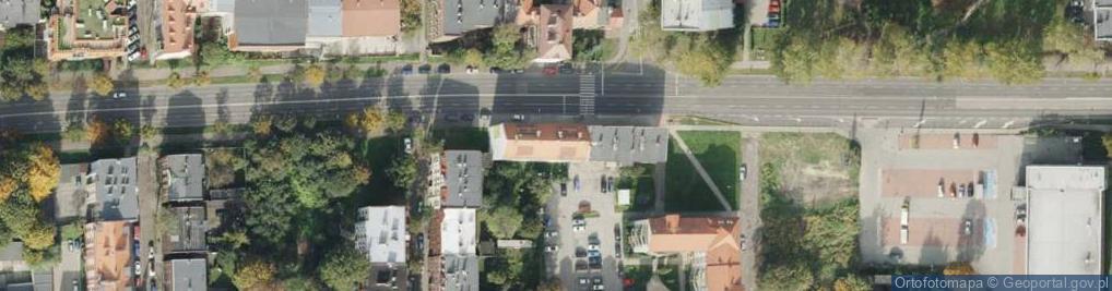 Zdjęcie satelitarne Aleja Bohaterów Monte Cassino al.