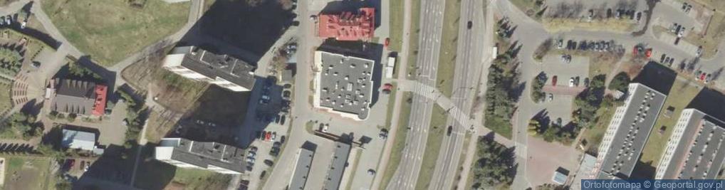 Zdjęcie satelitarne Aleje Jana Pawła II al.