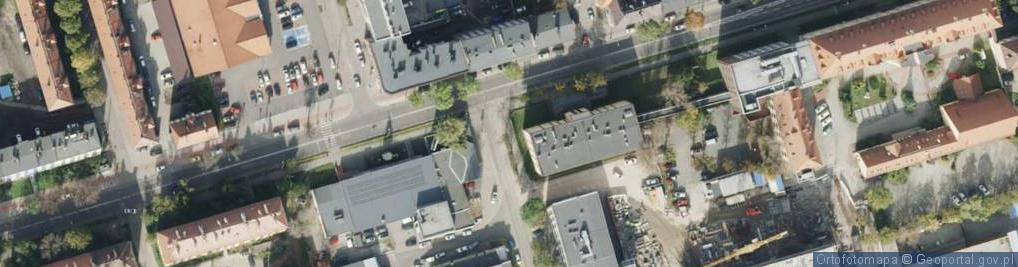 Zdjęcie satelitarne Amerykańska ul.