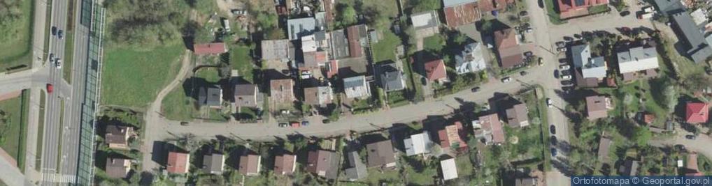 Zdjęcie satelitarne Antoniewicza Jerzego ul.