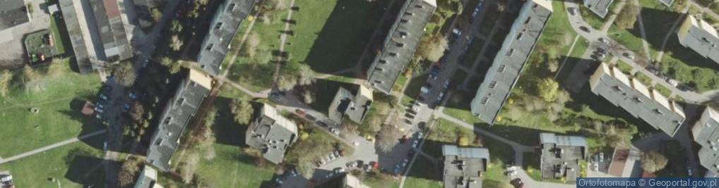 Zdjęcie satelitarne Andersa Władysława, gen. ul.