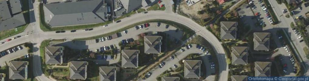 Zdjęcie satelitarne Anny Jagiellonki ul.