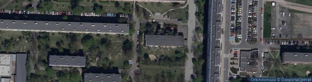 Zdjęcie satelitarne Andromedy ul.