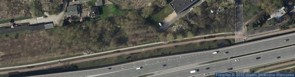 Zdjęcie satelitarne Ananasowa ul.