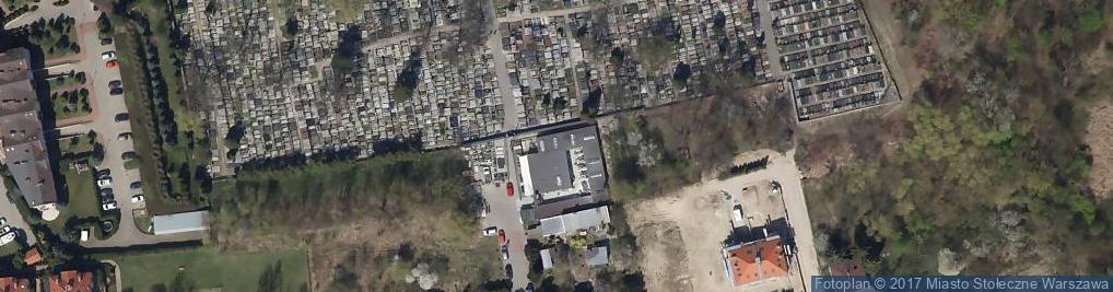 Zdjęcie satelitarne Anyżkowa ul.