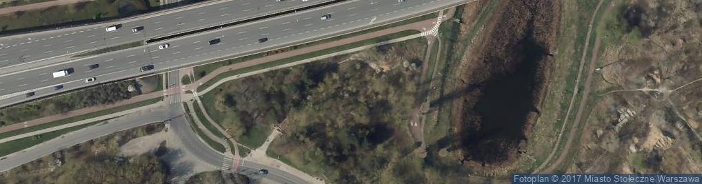 Zdjęcie satelitarne Antoniewska ul.