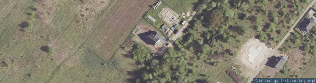 Zdjęcie satelitarne Aroniowa ul.