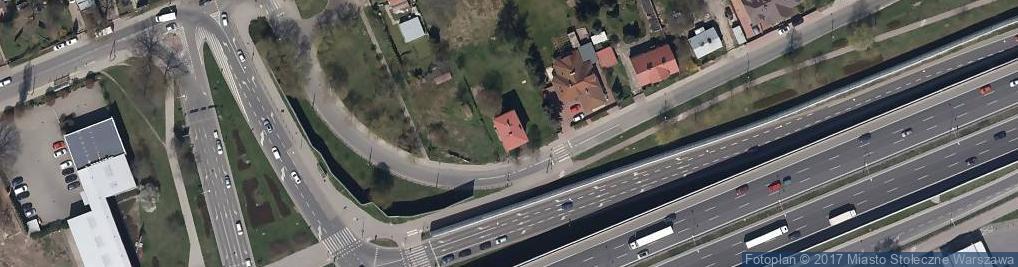 Zdjęcie satelitarne Artyleryjska ul.