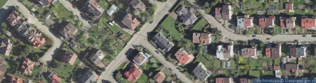 Zdjęcie satelitarne Astronautów ul.