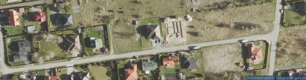Zdjęcie satelitarne Asnyka Adama ul.