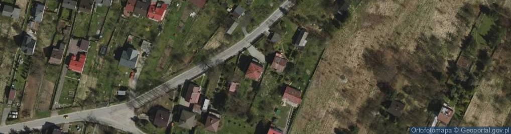 Zdjęcie satelitarne Asfaltowa ul.