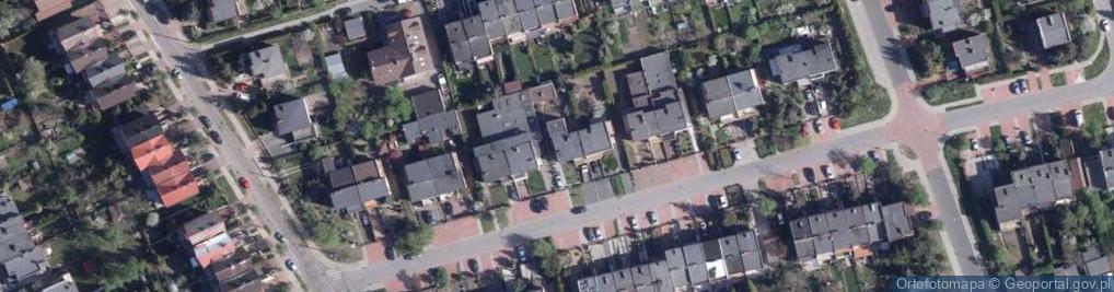 Zdjęcie satelitarne Astrowa ul.