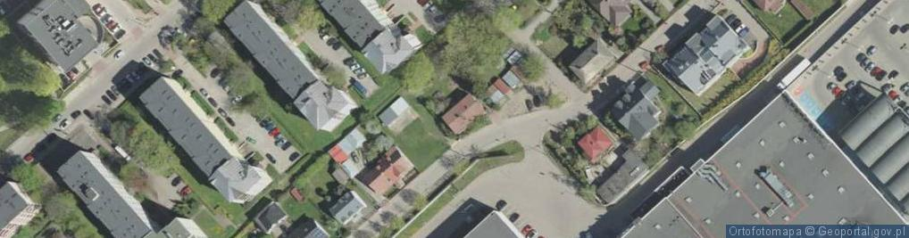 Zdjęcie satelitarne Augustowska ul.