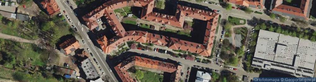 Zdjęcie satelitarne Axentowicza Teodora ul.