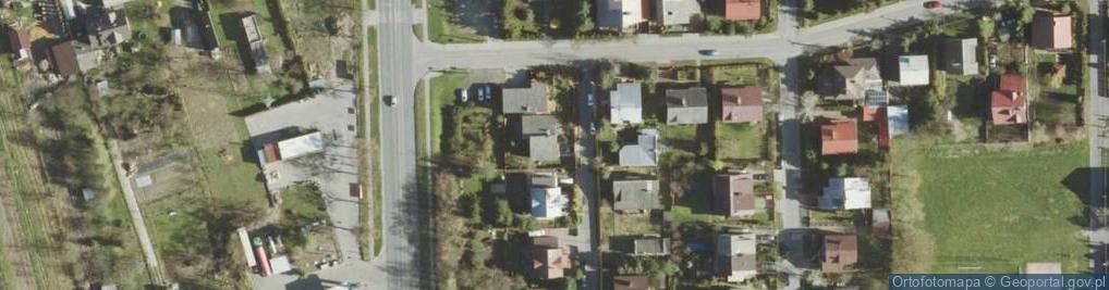 Zdjęcie satelitarne Azaliowa ul.
