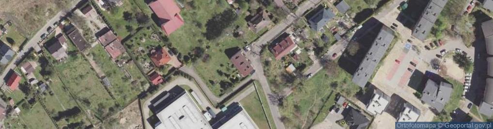Zdjęcie satelitarne Azot ul.
