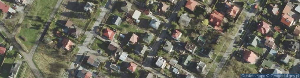 Zdjęcie satelitarne Baczyńskiego Krzysztofa Kamila ul.