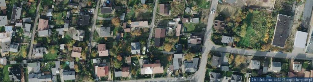 Zdjęcie satelitarne Balonowa ul.