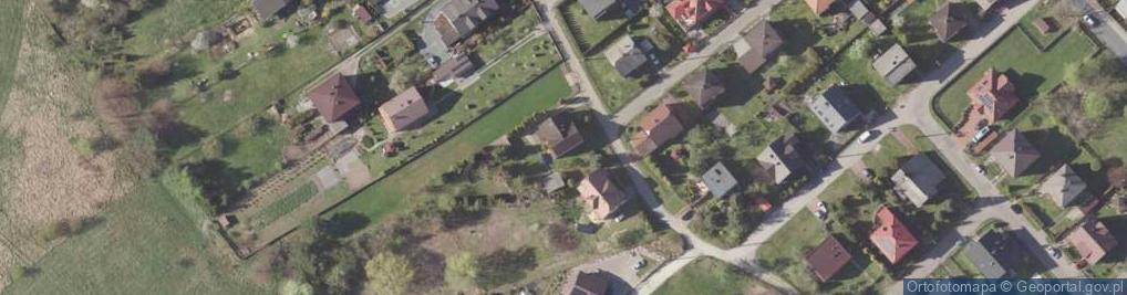 Zdjęcie satelitarne Bagno ul.