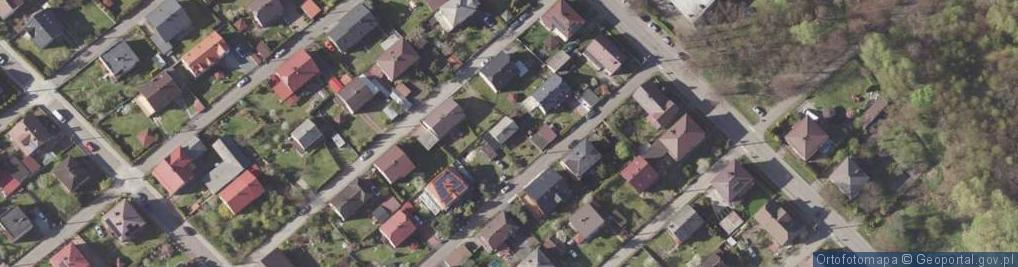 Zdjęcie satelitarne Banachiewicza Tadeusza ul.