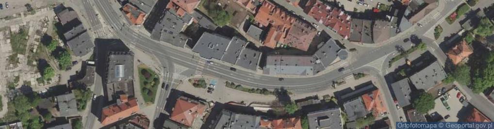 Zdjęcie satelitarne Bankowa ul.