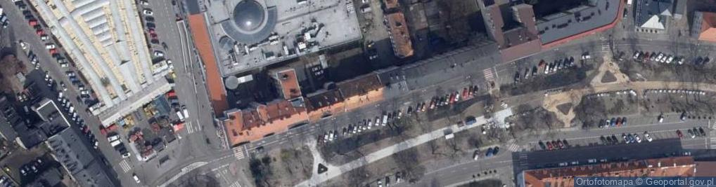 Zdjęcie satelitarne Babina ul.