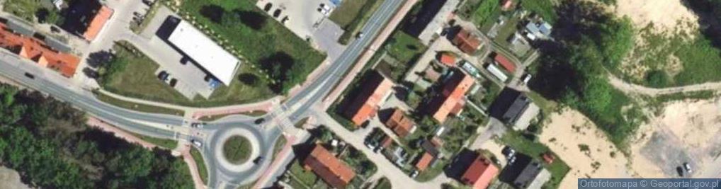 Zdjęcie satelitarne Bałtycka ul.