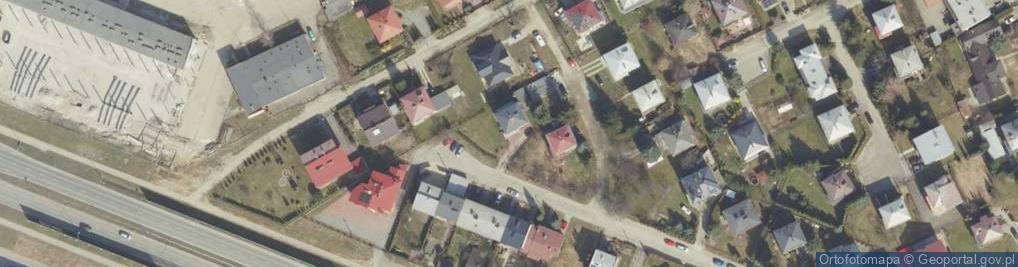 Zdjęcie satelitarne Balkonowa ul.