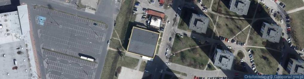 Zdjęcie satelitarne Bartoka Beli ul.