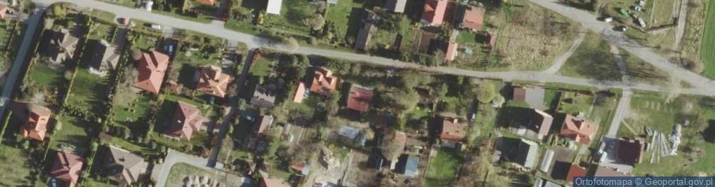 Zdjęcie satelitarne Bazylany ul.
