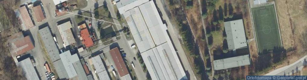 Zdjęcie satelitarne Bakończycka ul.