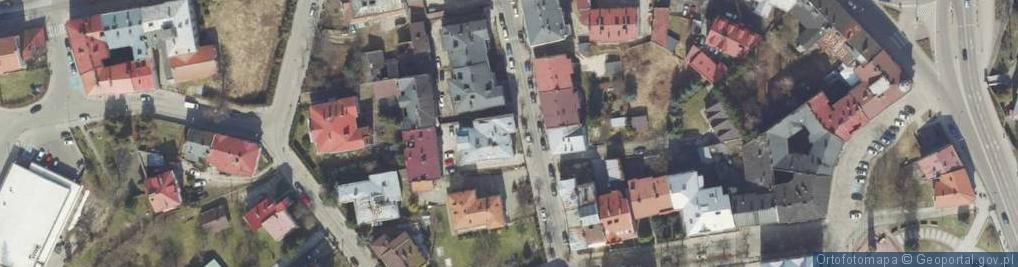 Zdjęcie satelitarne Barska ul.
