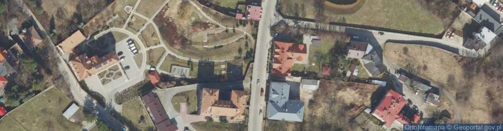 Zdjęcie satelitarne Basztowa ul.
