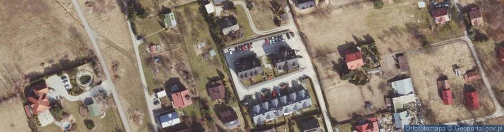 Zdjęcie satelitarne Balistyczna ul.