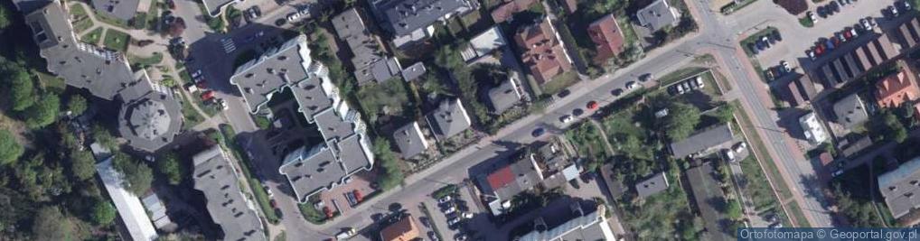 Zdjęcie satelitarne Bartkiewiczówny Janiny ul.