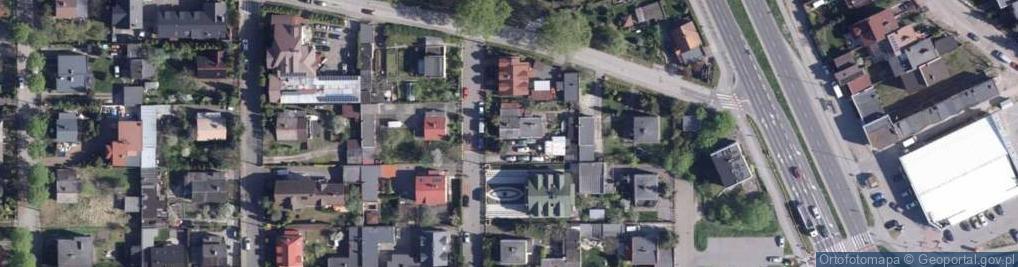 Zdjęcie satelitarne Bażantowa ul.