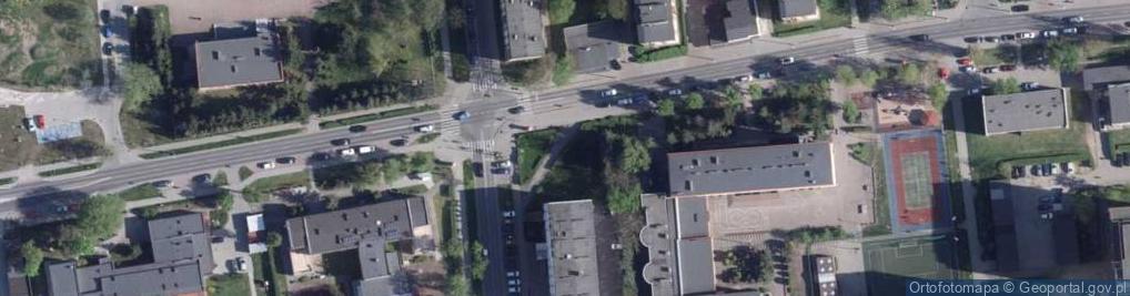 Zdjęcie satelitarne Bażyńskich ul.