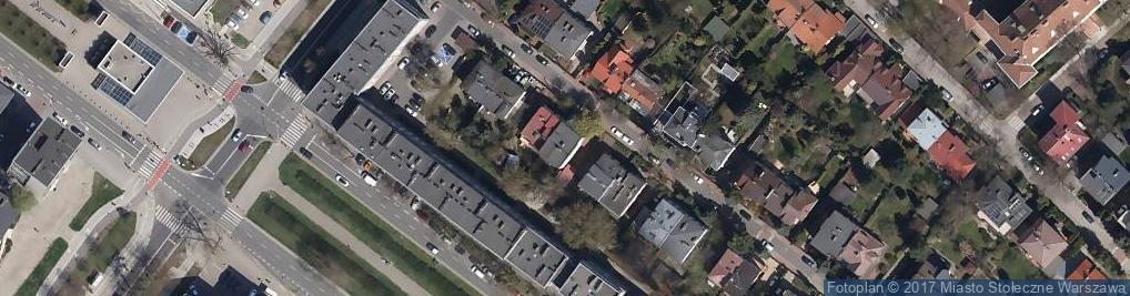 Zdjęcie satelitarne Barcicka ul.
