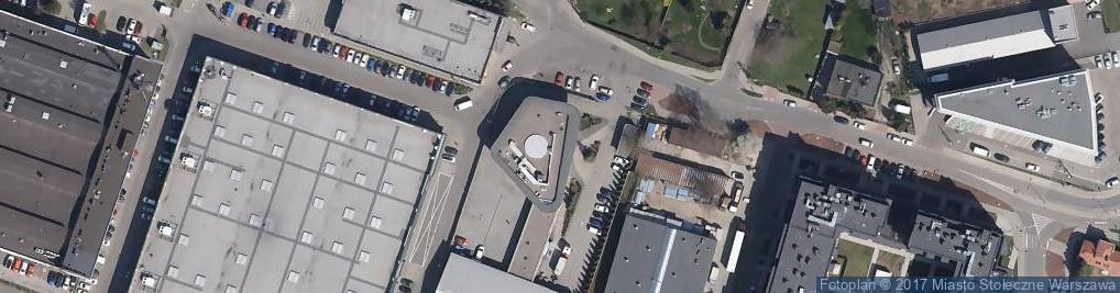 Zdjęcie satelitarne Bakalarska ul.