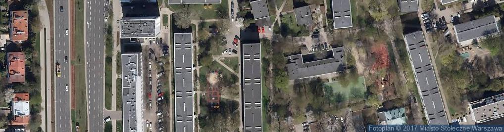 Zdjęcie satelitarne Baboszewska ul.