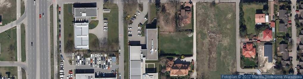 Zdjęcie satelitarne Bażancia ul.