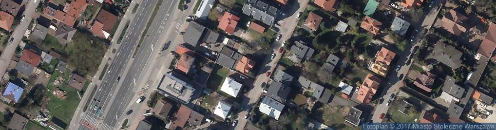 Zdjęcie satelitarne Bajeczna ul.